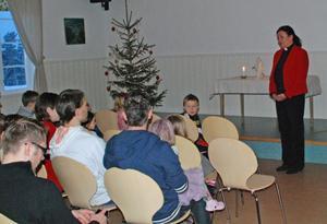 För prästen Monica Jones var det första julfesten i Backa - en tradition som är över 50 år gammal.