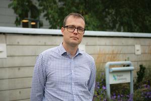 Patrik Stenvard (M) regionråd i opposition.