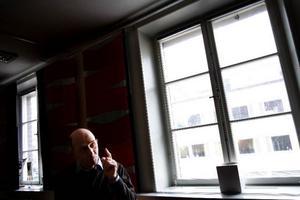 """""""Jag är glad att jag fick sitta just den period som jag gjorde. Det var otroligt spännande att få vara med under den stora utvidgningen när så många länder blev nya medlemmar samtidigt"""", säger Per-Arne Arvidsson, m, som satt i EU-parlamentet 1999-2004. Foto: Henrik Flöygare"""