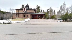Här, i Grängesbergs kyrka, har fritidsgården hållit hus under en lång tid och kommer att göra så i ytterligare knappa tre månader, sedan bär det av till nya lokaler.