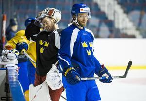 Victor Hedman stod för ett av två svenska mål mot Finland.