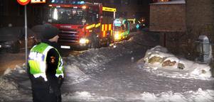 Flera poliser spärrade av Nygatan under en halvtimme på torsdagsmorgonen.