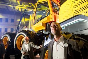 De nya lastarna förväntas bli en succé för Ecolog. Bränslesnålare, tystare och bekvämare maskiner ska utöka marknadsandelarna i världen, tror vd Joel Schönning.