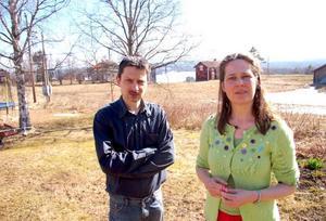 """Martin och Cecilia Gelland har ansökt om friskola för skolan i Fyrås. """"Skolan kan tidigast starta höstterminen 2010"""", säger Martin Gelland.Foto: JOnas Ottosson"""