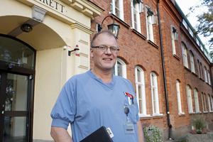 Receptrutinerna vid Norrtälje sjukhus ska vara vattentäta menar hjärtöverläkaren Sune Forsberg. Foto: David Rydell