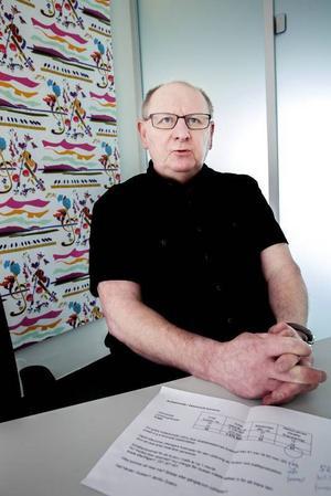 Alvar Edholm håller med om att man kanske måste sänka biljettpriserna på bussarna i Östersund, eftersom det i vissa fall blir billigare att ta bilen.