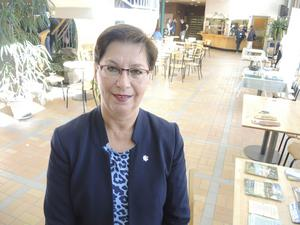 Riksdagsledamot Anna Hagwall, tidigare SD, nu vilde.