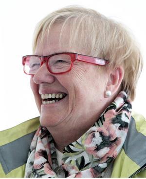 Anita Olofsson är ordförande för Hammerdals konstförening