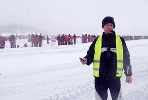 Glenn Ocklund, en av arrangörerna var nöjd med årets Speed Weekend trots den olycka som skedde under lördagen.