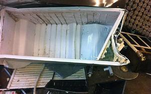 När Transports ombudsman kom på besök såg han mängder av trasiga kylskåp. Foto: Transport