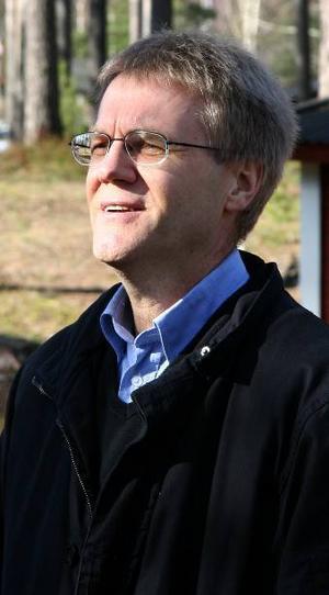 Grönt. Generaldirektör Göran Enander berättade hur han besökt riksdagen och visat en lång lista på goda resultat från Gröna jobb.