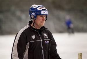 Johan Sixtensson, tränare i Villa Lidköping.