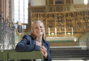 Sverigedemokraternas Julia Kronlid utmålar S som partiets huvudmotståndare.