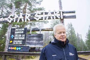 Roine Sjödin är arbetsledare för Södra bergets friluftsområde.