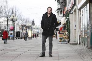 David Borvall i Göteborg i januari förra året.