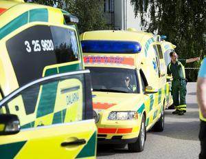 Vid en bilolycka med fyra akutpatienter krävs fem ambulanser. Det är tur att det hänt sällan i sommar, med tanke på att så få ambulanser funnits till hands i Gävleborg.