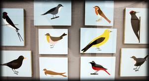 Fåglar av Carl Anders Thorheim.
