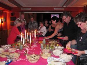Den 26 oktober blir det Rosa bandetgala i Gäddede, i år är det femårsjubileum. Bilden är från galan 2009.