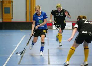 Sara Molin och Söderhamns IBF höll undan med andan i halsen i division 2-mötet med Klockarbergets BK.
