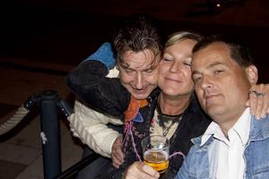 Jocke Nilsson, Annelie och Paul.