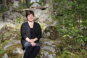 Magdalena Flemström trivs ute i naturen, och hon är inte rädd för att arbeta med kroppen.
