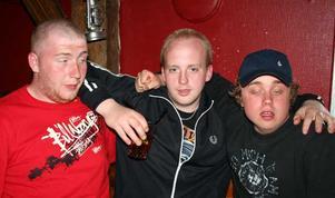 Konrad. Karl, Birger och Rickard