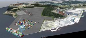 Triangelspåren är en nödvändighet för att förverkliga utbyggnaden av en logistikpark/kombiterminal i Tunadalsområdet.