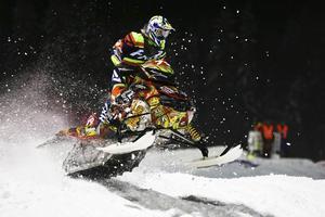 Emilia Dahlgren, här från SM i Nyborg där hon vann, satsar hårt med en mer offensiv körstil i år: