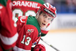 Emil Bejmo gjorde 6 poäng på 17 matcher i SSK. Foto: Bildbyrån/Daniel Eriksson.
