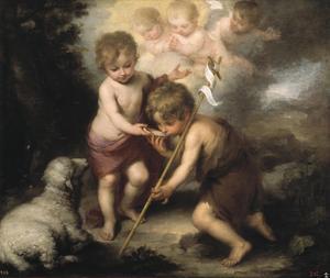 Jesus som barn, målning av Bartolomé Esteban Murillo från 1670.