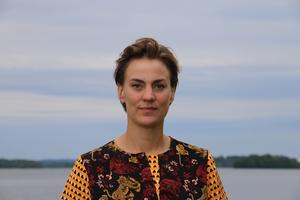 Caroline Dieker (M), ordförande i kommunstyrelsen i Askersund.