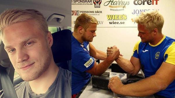 Ronny Dahl tog sitt sjätte guld vid årets VM i armbrytning.