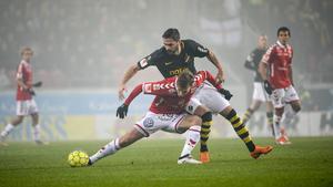 Denni Avdic spelade en match från start i allsvenskan 2018 – i finalen mot Kalmar FF då AIK säkrade det allsvenska guldet.