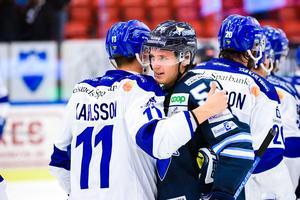 Fredrik Forsberg har mattats av en aning på slutet, men leder ändå BIK:s poängliga med sju mål och sex assist. Foto: Bildbyrån.