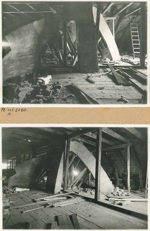Interiörbilder från Karlslunds ålderdomshem tagna 1928. Foto: Okänd/VLM