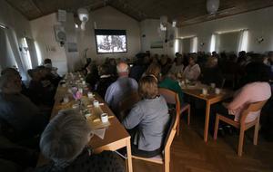 Två utsålda salonger med 180 besökare vid varje tillfälle kom till Kräcklingegården för att se filmen