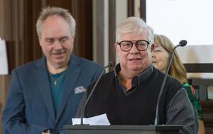 Nils Westling (C) har varit ordförande för kommunens revision i 16 år.