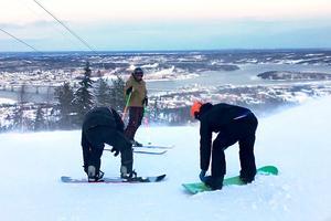 Södra bergets slalombacke