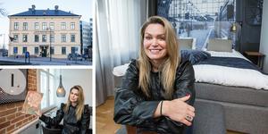 Hanna Wellander tar över Livin station hotell den 1 februari.