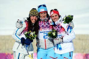 OS-silver skiathlon 2014. Bild: Carl Sandion/Bildbyrån.