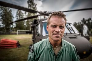 Magnus Hellgren är pilot och major med bas i Linköping.