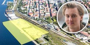 Olle Björkebaum, östersundare och arkitektstudent på KTH, skriver om byggplanerna för Storsjö Strand.