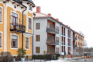 Studentbostadshuset i kvarteret Grillgården. Foto: Susanne Flink