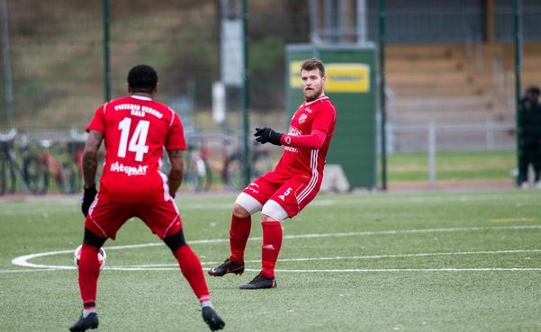 Sala FF:s spelande tränare Rigest Hysko.