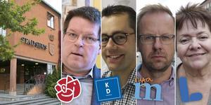 Fyra partier går ihop i en koalition som ska styra Ludvika de närmaste fyra åren.