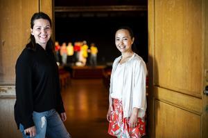 Sångläraren Elin Sydhage och dansläraren Susanne Thorén är projektansvariga.