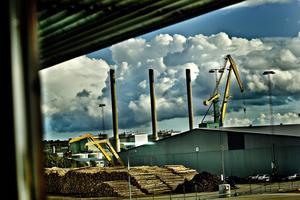 Karlshamns oljekraftverk. Foto: TT
