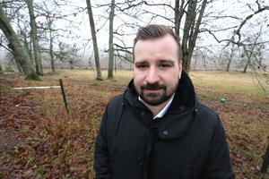 Johan Niklasson, kommunstyrelsens ordförande i Lekeberg.