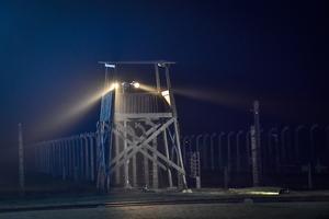 Ett vakttorn vid det gamla koncentrationslägret i Auschwitz. Foto: Jonas Ekströmer/TT
