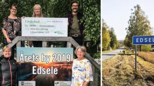 """Edsele utsedd till årets by – uppmärksammades: """"Vi har kämpat hårt"""""""